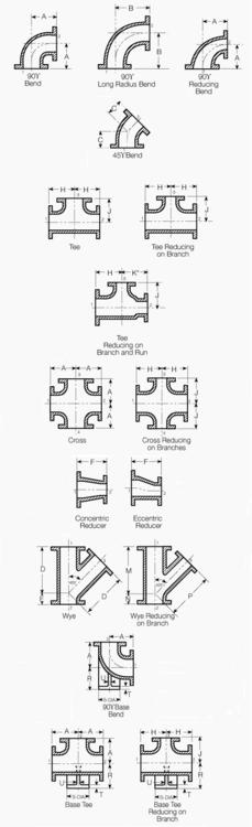 2 1 4 4 1B Flanged Standard Dimensions Print