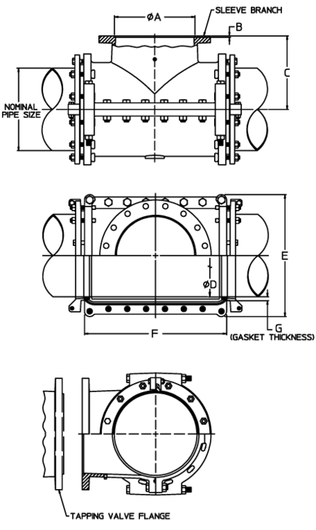 2 4 5 1 2 Series 2800 C Dimensions Print