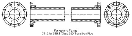 2 1 2 5 5E Flanged Weights Print