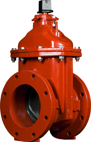 "2""-12"" Resilient Wedge NRS Gate Valves with Flanged Ends"