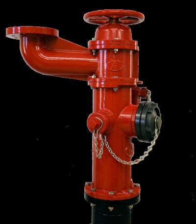 """American-Darling® 6"""" B-84-B-BB-5 Industrial Fire Hydrant"""