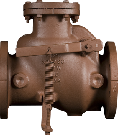 Series 52-SC Swing Check Valves - Lever and Spring