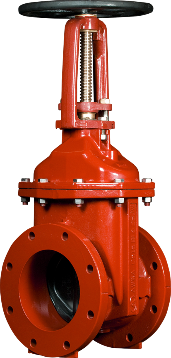 2 12 Resilient Wedge Os Y Gate Valves With Flanged Joint Ends American