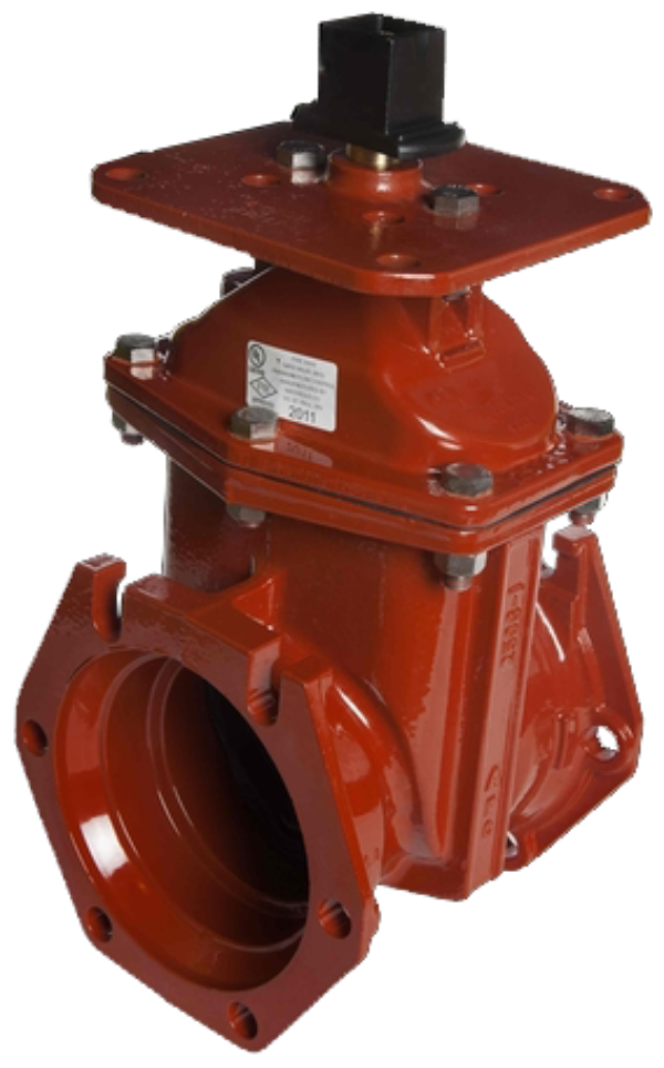 "3""-24"" Resilient Wedge Gate Valve with Indicator Plate"