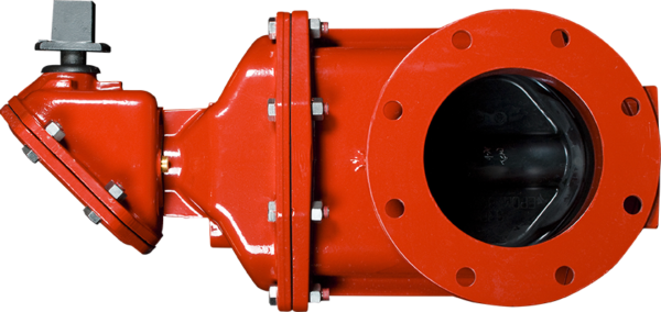 "3""-12"" Resilient Wedge Gate Valves with Flanged Joint Ends - Standard NRS with Enclosed Miter Gearing"
