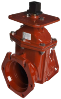 "3""-24"" Resilient Wedge NRS Gate Valve with Indicator Plate"