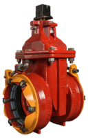 "4""-12"" Resilient Wedge Gate Valves with ALPHA™ Restrained Joint Ends"