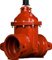 "4""-12"" Resilient Wedge Gate Valves with Push-On Ends"