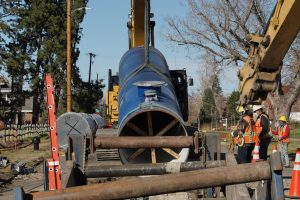 Denver Water takes a proactive approach to inspect its pipelines to identify issues and prioritize replacement projects. After review of this data, the water system identified several problems along Conduit 94 in north Denver.