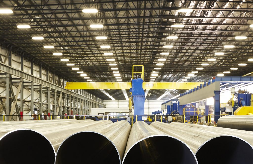 AMERICAN Steel Pipe's $70-Million Expansion Complete