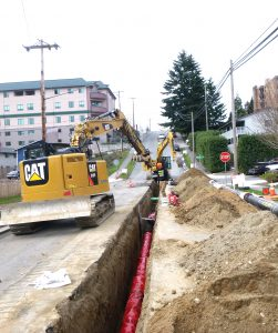 The city of Everett, Washington, completed two separate installation projects using 12-inch AMERICAN Ductile Iron Pipe with earthquake resistant pipe joints.