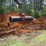 42-inch AMERICAN Ductile Iron Pipe will carry raw water from Lake Guntersville to the new treatment facility.