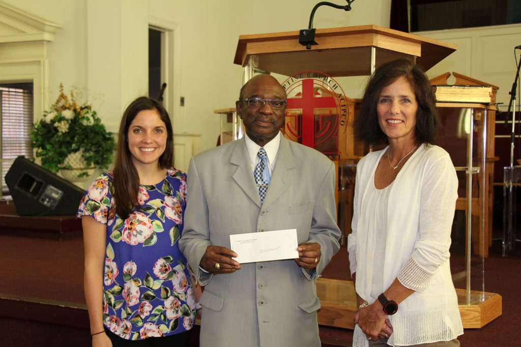 First Baptist Church of ACIPCO, Scale Back Give Back