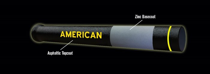As America looks to prepare our nation's water infrastructure for the next century and beyond, zinc-coated ductile iron pipe is the solution of choice.