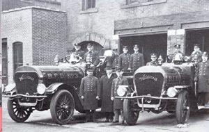 Waterous fire truck, Bridgeport, Connecticut, 1912